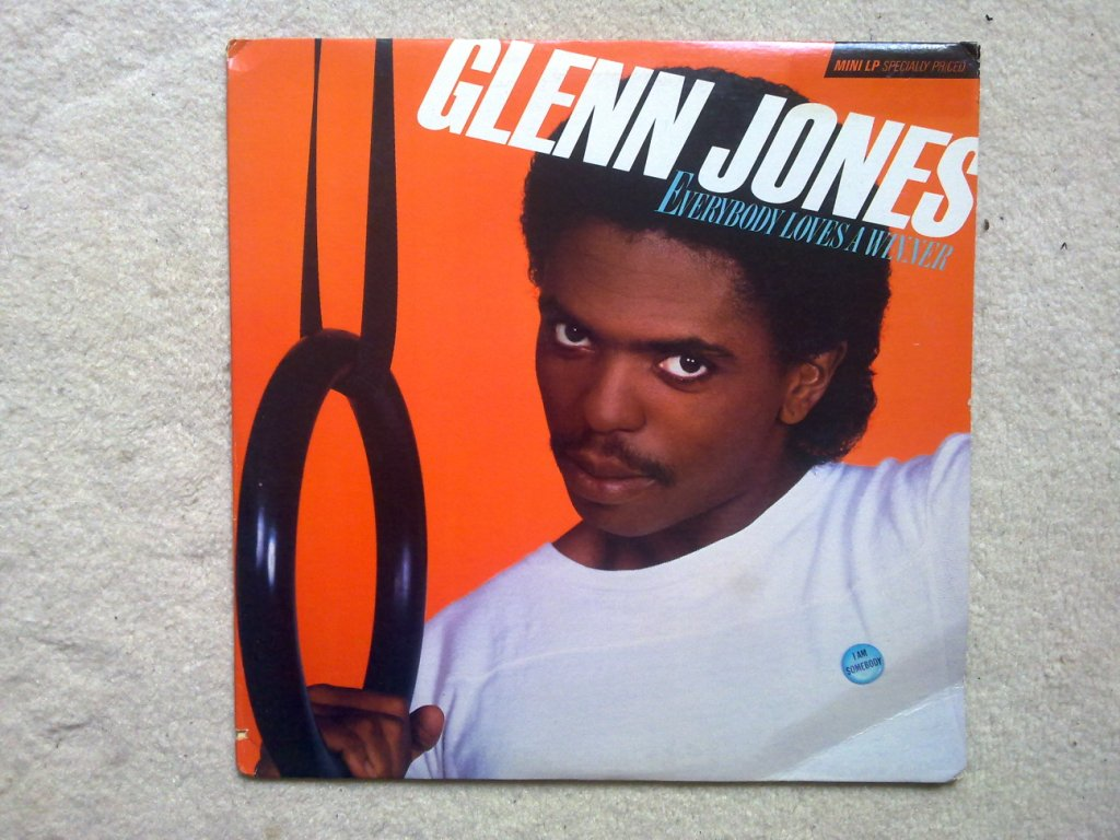GLENN JONES - Everybody Loves A Winner - 33T